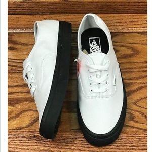 643335adae Vans Shoes - Vans Authentic Black Outsole True White Men Shoes